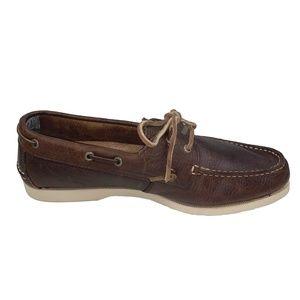 Sebago Crest Docksides Leather Boat Shoes